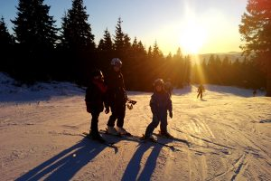 Ski areál Hochficht si zakládá na tom, aby si tu v pohodě zalyžovaly celé rodiny.