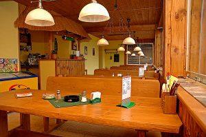 V restauraci se najíte s parádním výhledem na Lipno.