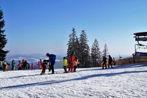 Sternstein - jeden z nejlepších rodinných skiareálů u Lipna. Domácký, bez front.