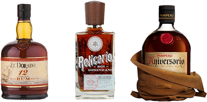 Ochutnejte tyto 3 skvělé rumy za zvíhodněnou cenu.