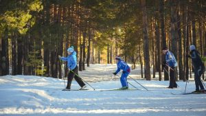 Běžecké lyžování v Schönebenu je vyhlášení, nástup blízko Zvonkové.