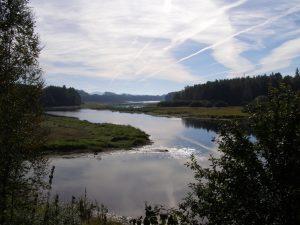 Lipenská přehrada je středobod celé oblasti a ráj vodního vyžití.