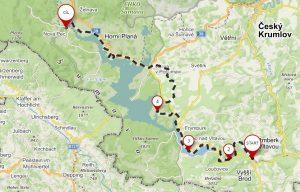 Lipenská cyklo magistrála vás provede kolem celého levého břehu Lipna.