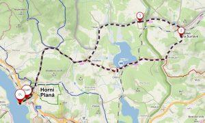 Poznejte zapadlé pošumavské vesničky v cyklostezce kolem Horní Plané a újezdu Boletice.