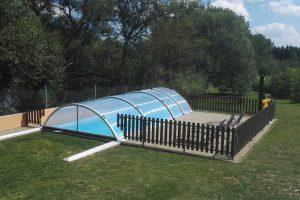 Ubytování s bazénem v jižních Čechách - slaná voda, střecha, ohřev = pohoda.