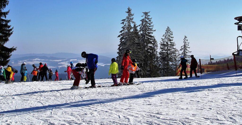 Grenzgenial se hodí v zimě do půjčoven a ski areálů.