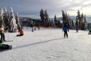 O děti je během lyžování v Hochfichtu postaráno.