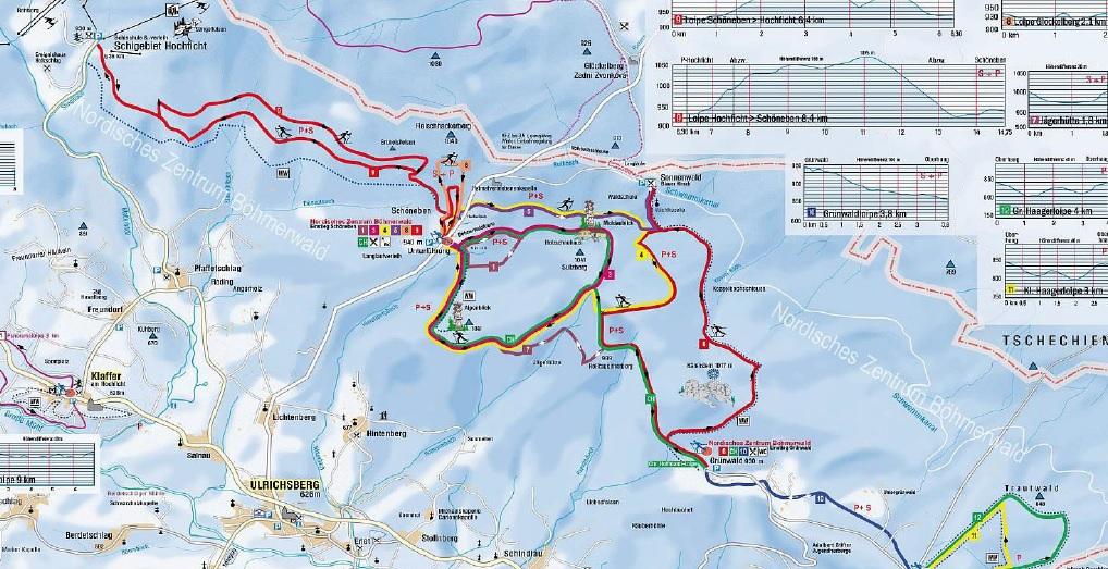 64 km parádních běžeckých tras se vyplatí vyzkoušet.