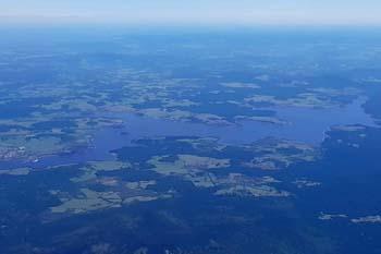 Okolí Lipenské přehrady je protkáno množstvím cyklostezek.
